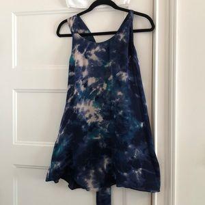 Silk mini dress from Parker.